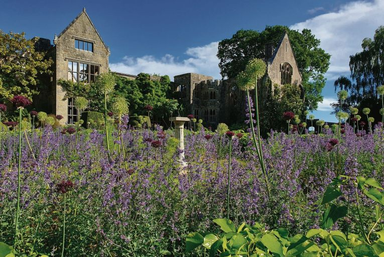 The gardens at Nymans in Sussex are a sight to behold at any time of year, but are particularly floriferous in spring