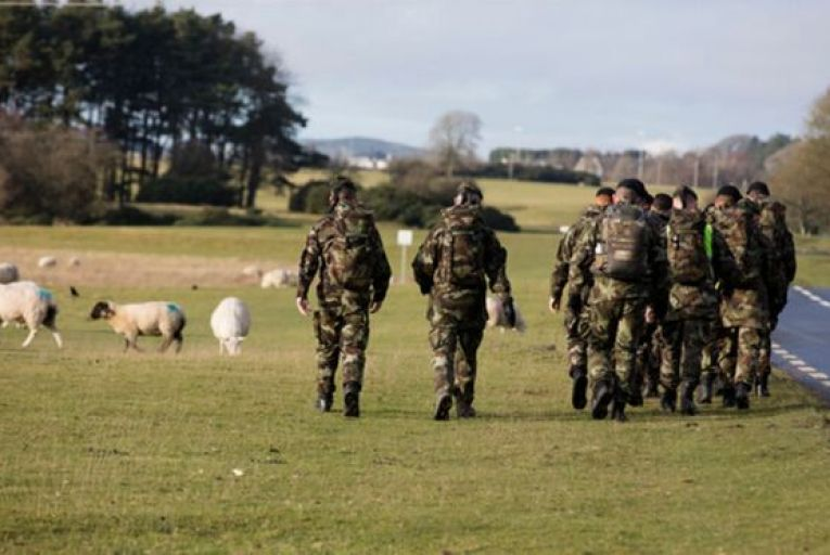 About 250 members of the defence forces have received treatment or been referred for it in the North under the cross-border scheme. Picture: Getty