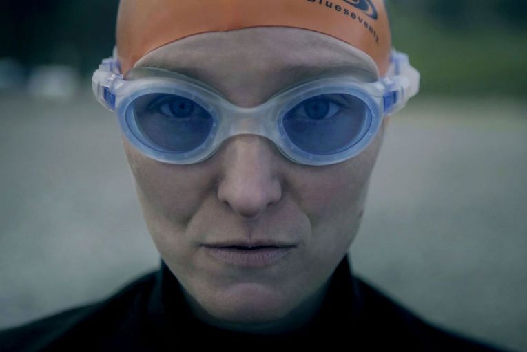 Beth French, marathon swimmer and world record-holder: her attempt to conquer Oceans Seven is the subject of documentary Against the Tides