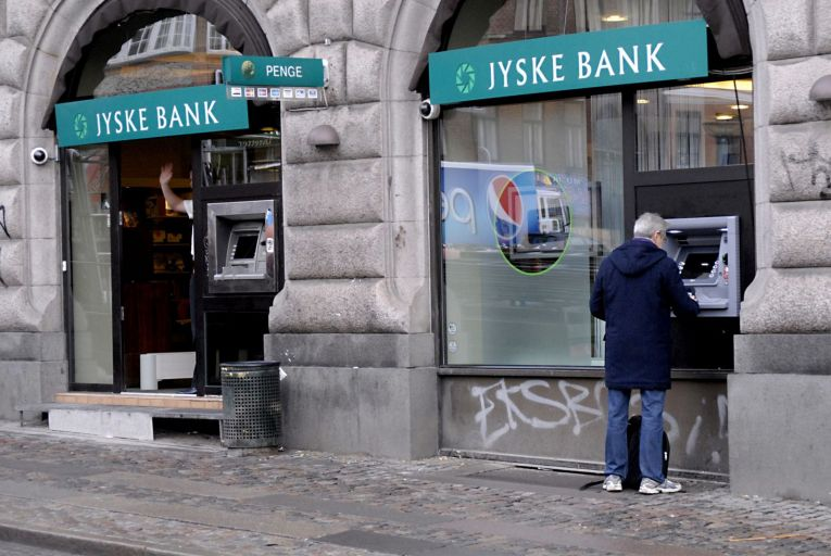 Jyske bank in Denmark: foreign banks are reluctant to set up in Ireland Picture: Getty