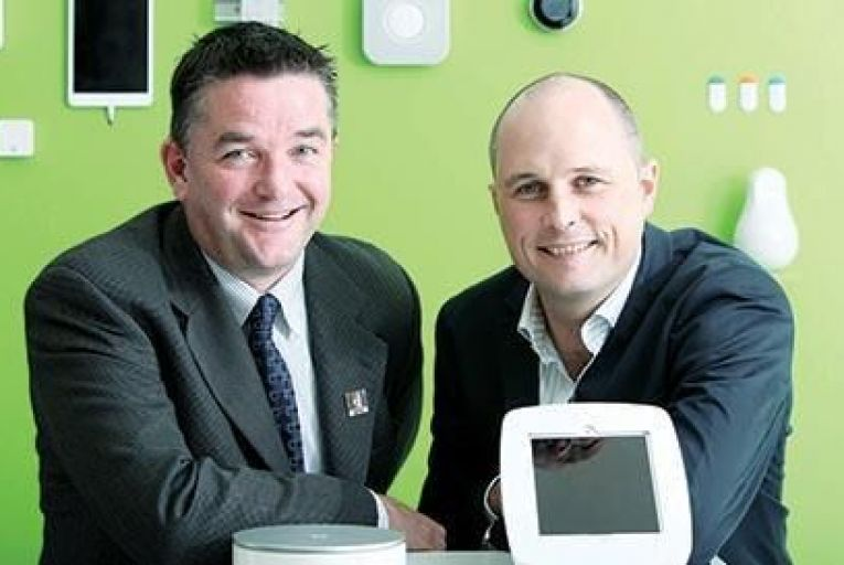 Justin McInerney, chief executive and Ken O'Shea, managing director, Accuflow Picture: Diane Cusack