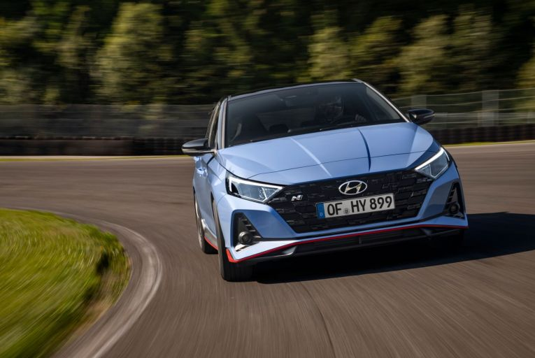 On the marque: Hyundai takes a detour into turbocharged sporty territory