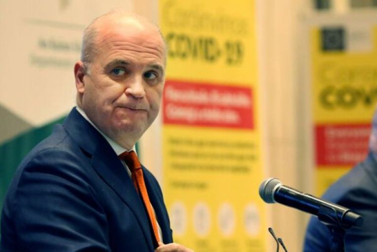 Tony Holohan, the Chief Medical Officer, has recommended that giving the AstraZeneca vaccine to those over 65 should be avoided where possible. Picture: Rollingnews.ie
