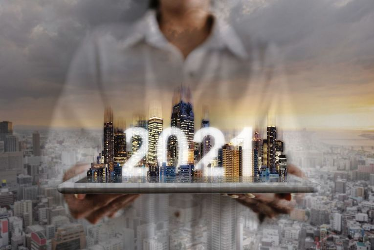What does the future hold for the real estate market? Cautious optimism is tempered by uncertainty in the wake of the ongoing global pandemic
