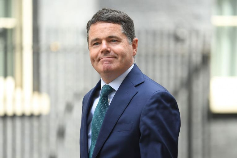 Pashcal Donohoe waited until the last minute to give the deal his backing. The Finance Minister and his department officials deserve credit for how they have navigated the choppy geopolitical waters over the past year. Picture: Getty