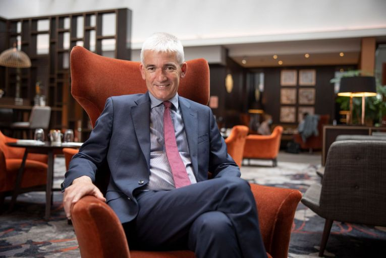 Dermot Crowley, chief executive designate of Dalata: 'The next six months in Dublin are going to be very challenging.' Picture: Fergal Phillips