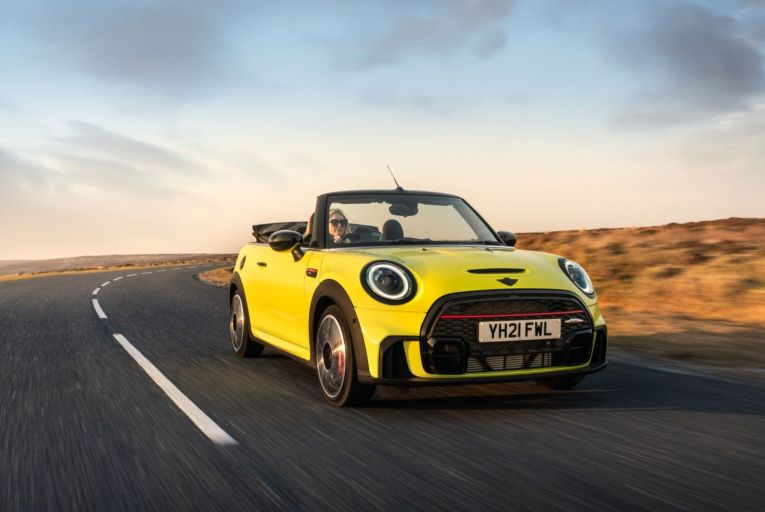 The Mini Cooper S Convertible: Mini has announced plans to go all-electric by 2025. In the meantime, some of the current models have been updated just enough to keep customers interested