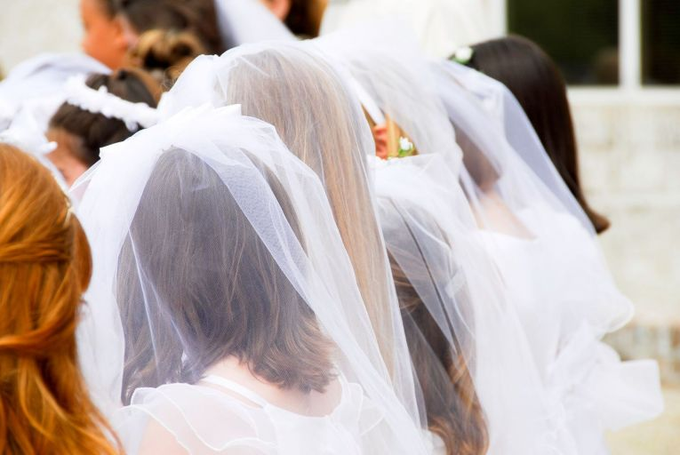 'A handful of senior Catholic bishops have recommended that communions can go ahead in August in their dioceses. This advice flies in the face of the public health advice.' Picture: Getty