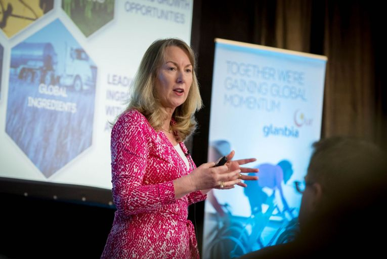 Siobhan Talbot, managing director of Glanbia: 'We're definitely reopening the acquisition agenda, looking and seeing what\'s out there.' Picture: Dylan Vaughan