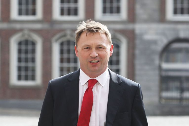 Sebastian Hamilton, Revolut Ireland's head of public affairs, met with several government and opposition TDs including Jim O'Callaghan of Fianna Fáil and Pearse Doherty, Sinn Féin's finance spokesman. Picture: Leah Farrell/RollingNews.ie