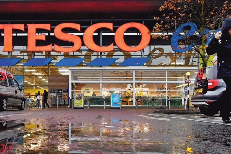 Tesco is facing a challenging future as Brexit hits its home  market;