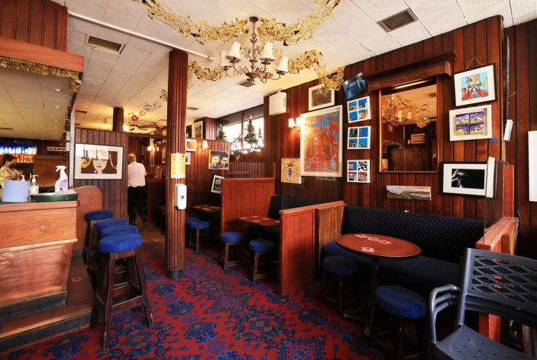Indoor drinking and dining in the likes of Grogan's on Dublin's South William Street has been pushed back until at least July 19. Picture: Eamonn Farrell/RollingNews.ie