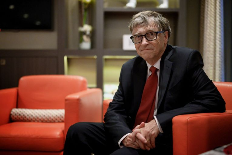 Bill Gates: 'I do think people in the rich world can and should cut back some on their emissions. I'm taking a number of steps to reduce and offset my own emissions.' Picture: Getty