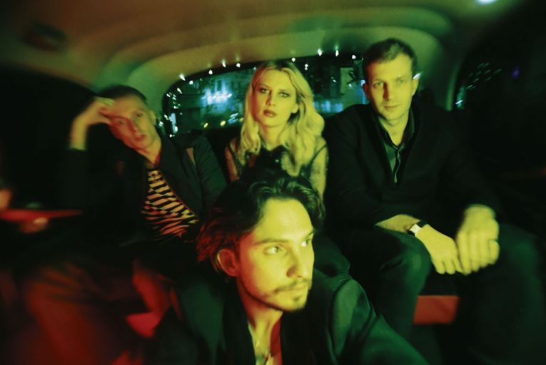 Wolf Alice (Ellie Rowsell centre, back row): \'Why do I put my songs out there when I'm quite a private person? I don't really know.\' Picture: Jordan Hemingway
