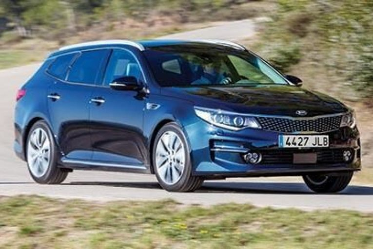 The new Kia Optima Sportswagon will go on sale in Ireland towards the end of this year