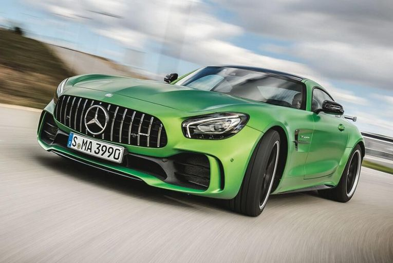 The new Mercedes-AMG GT R has been developed extensively around Germany's most famous, difficult and dangerous track, the Nürburgring