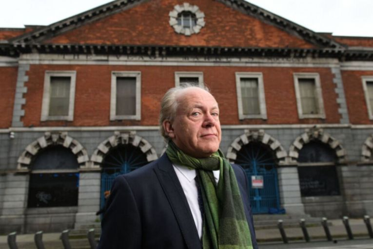 Patrick Guinness, historian, pictured outside the Iveagh Markets building of which is family will take back ownership