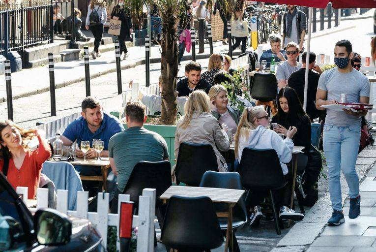 Diners will soon be able to have meals at restaurants, pubs and cafés. Picture: RollingNews