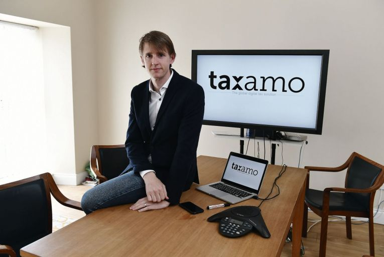 John McCarthy, who founded Taxamo in Killorgan in 2011. Picture: Domnick Walsh