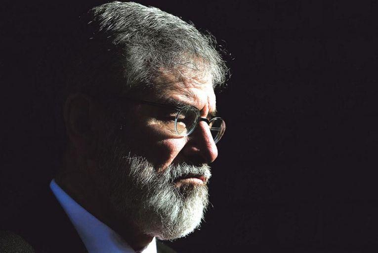 Gerry Adams of Sinn FéinPA