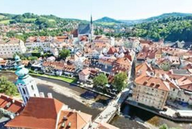 The beguiling town of Cesky Krumlov.Thinkstock