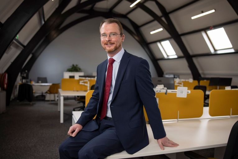 """On the whole it's a much more ambitious scheme than I had anticipated from government,"""" said Declan de Lacy, partner at PFK O'Connor, Leddy & Holmes. Picture: Fergal Phillips"""