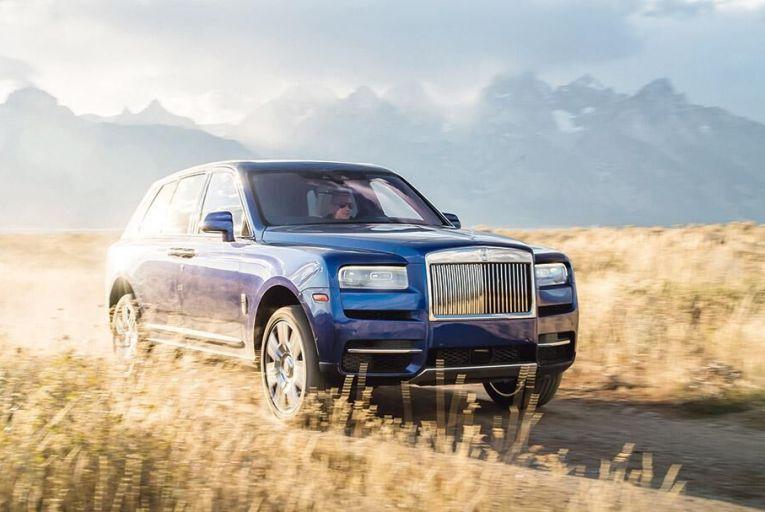 New Rolls-Royce SUV is effortless everywhere