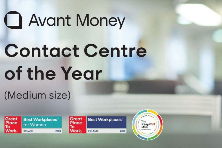 Carrick-on-Shannon-based financial services company Avant Money was the recipient of several awards at the recent CCMA Irish Contact and Shared Services Awards