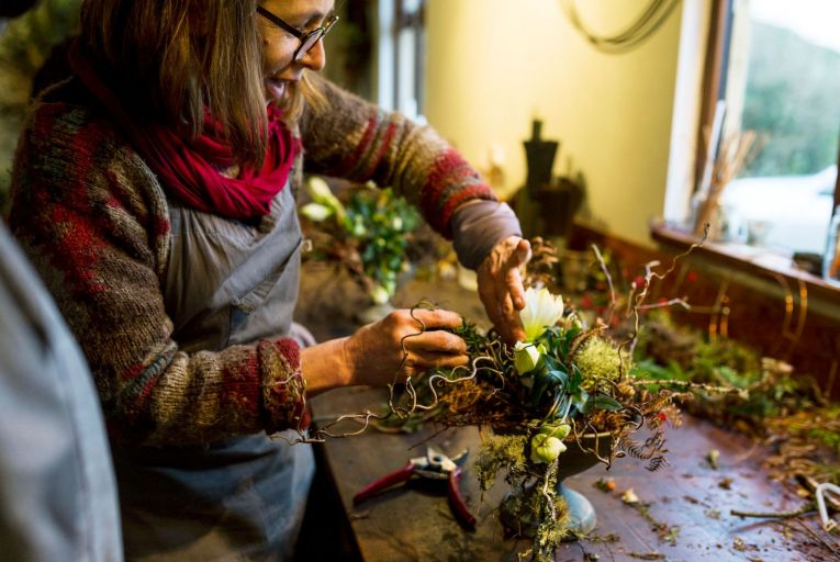 The holly and the ivy and the natural way to celebrate Christmas