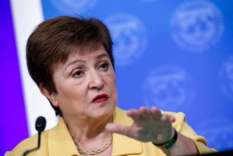 Kristalina Georgieva, the IMF's managing director, said its executive board has agreed to double access to its emergency financing to meet expected demand of about $100 billion. Picture: Getty