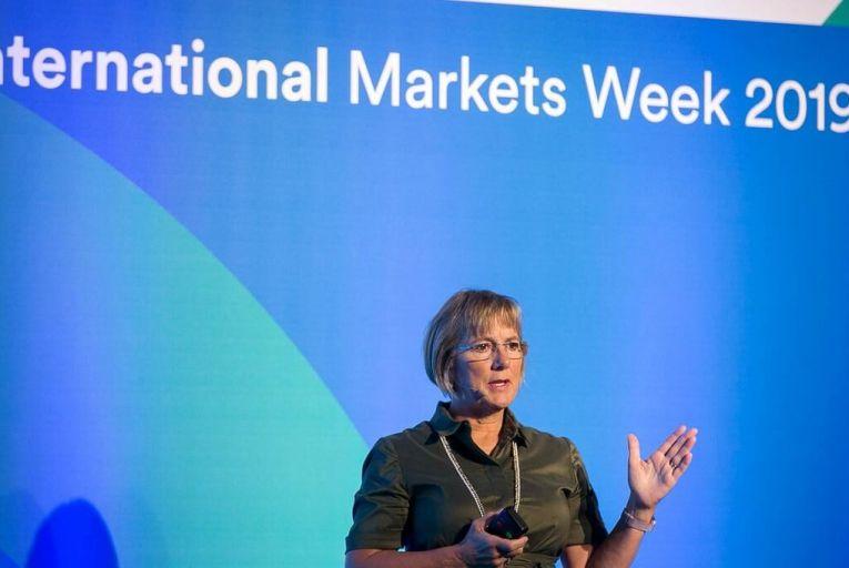Julie Sinnamon, chief executive of Enterprise Ireland. Picture: Shane O\'Neill