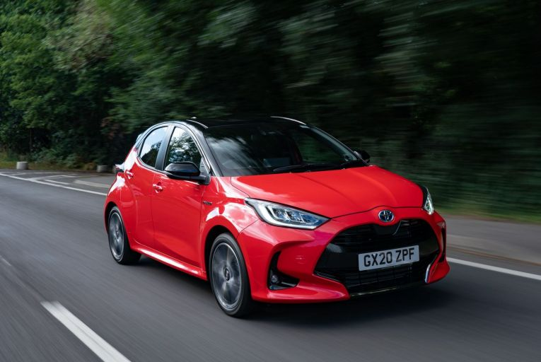 The Toyota Yaris Premier is the top trim level in the range