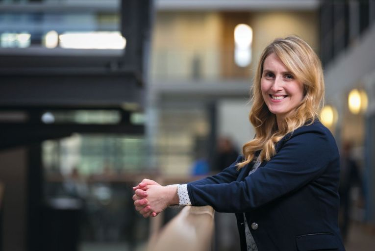 Aideen O'Dochartaigh, assistant professor in accounting in DCU Business School Picture: Shane O'Neill