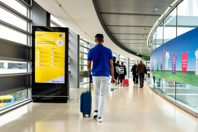 It is crucial that travellers to Ireland should follow the advice to limit their movements within the country after arrival, even if they receive a negative test result.