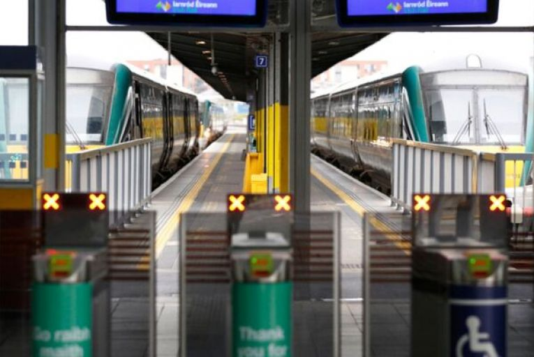 """Gerry Culligan, the commercial director of Iarnród Éireann, said the new contract would allow Irish Rail to """"improve and build capabilities to meet new and emerging customer demands"""". Picture: Rollingnews.ie"""