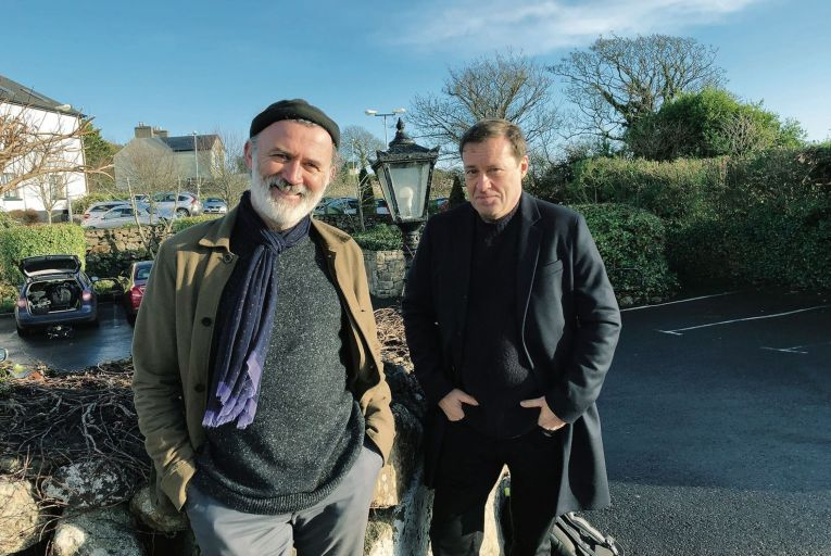 Tommy Tiernan and Ardal O'Hanlon in Holy F*** (RTÉ ONe)