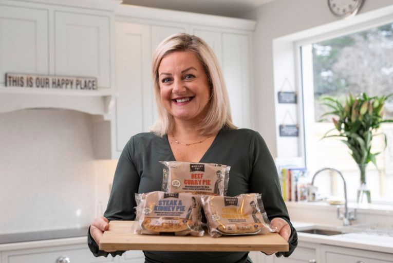 Managing director Nicola Mogerley is part of the fourth generation of her family to run Mogerley Pies. Picture: Fergal Phillips