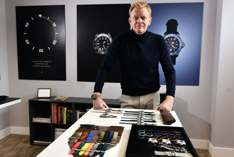 Hans Enoksen, founder Enoksen Watches in Belfast: 'Whatever the question is, the answer is always yes. That's how we run this business.' Picture: Colm Lenaghan/Pacemaker