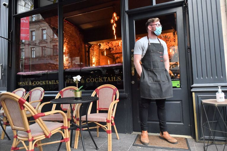 Businesses such as restaurants who are registered for CRSS and are resuming their trading in December can make their claim for an additional payment to assist in reopening