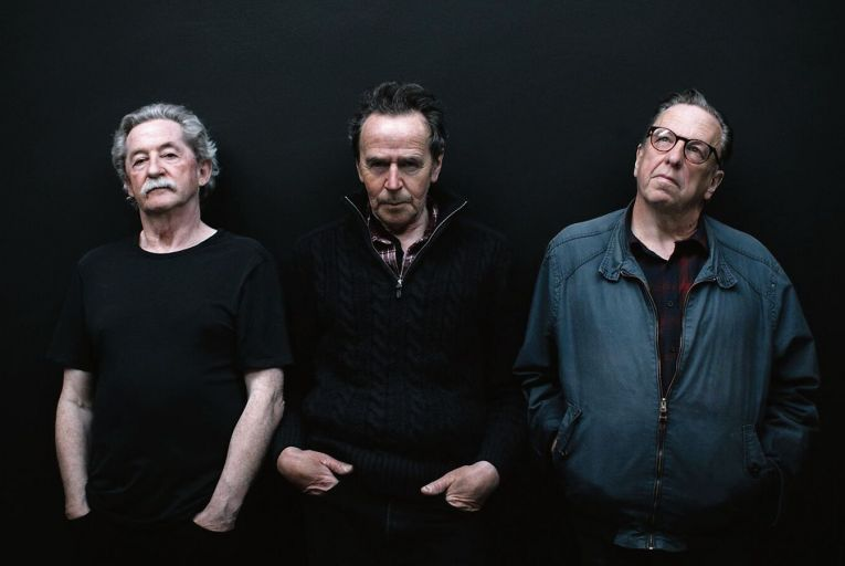 Sonny Condell, centre, with his band Scullion who have recorded a new version of their Ulysses-inspired track The Fruit Smelling Shop
