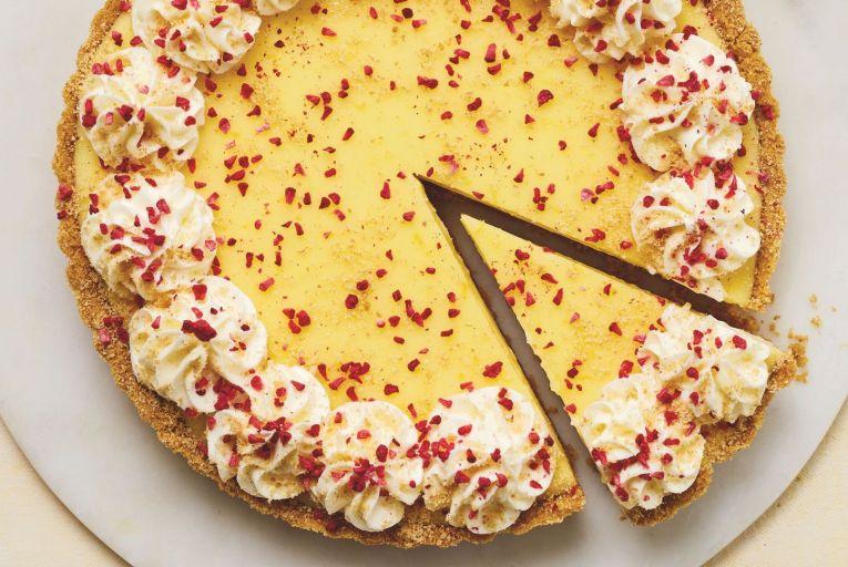 Lemon posset tart