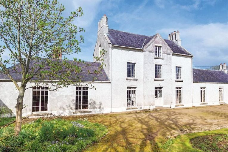 Knocknagin House, near Balbriggan, which is on the market for €1.65 million, is set on 4.27 acres about 20 minutes' drive from Dublin Airport