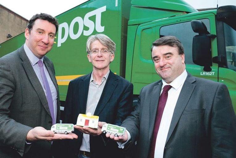 An Post delivers door-to-door shipments for small exporters
