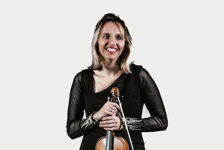 Violinist Katherine Hunka is one of the brilliant players who will perform Quartet for the End of Time