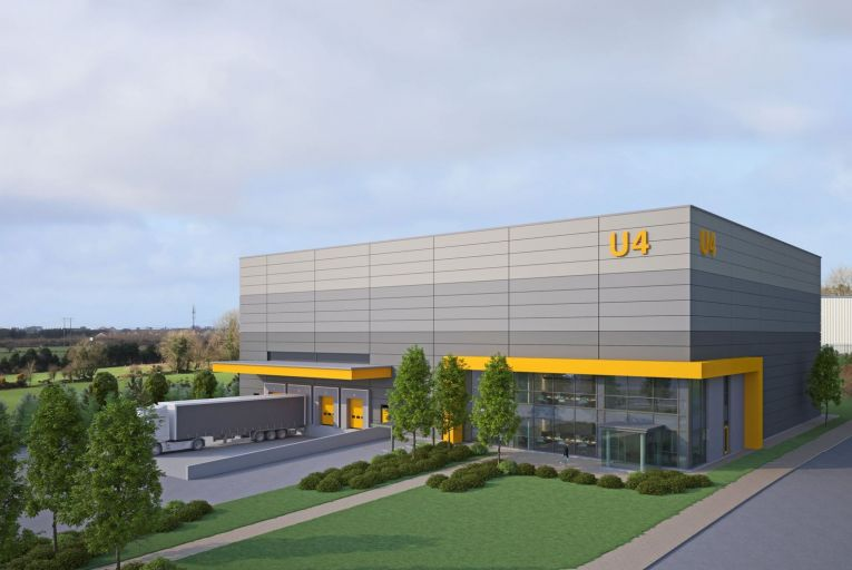 Plans for the new industrial space at Watergrasshill Business Park
