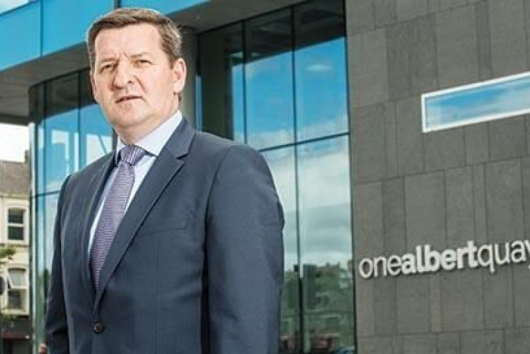 Peter OFlynn, managing director, DTZ Sherry FitzGerald Cork Picture: John Allen