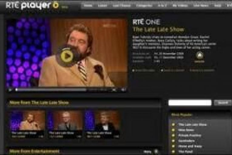 RTE Player: survey shows usage growing