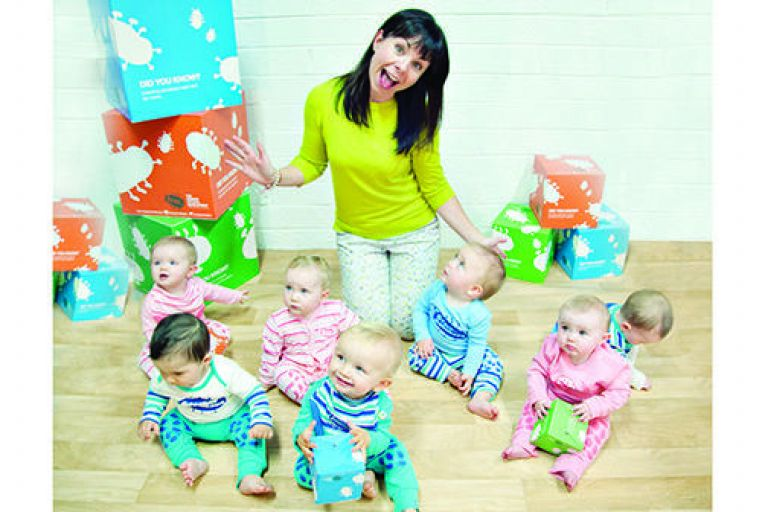 Helping babies to  get a grip