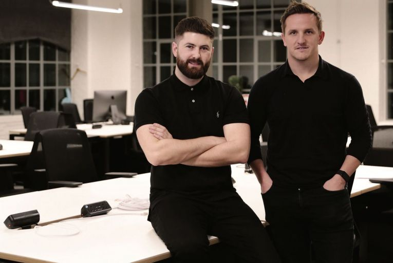 Liam Harrington, the chief business officer of Iconic Labs and Paul O'Donohoe, partner, Greencastle Capital