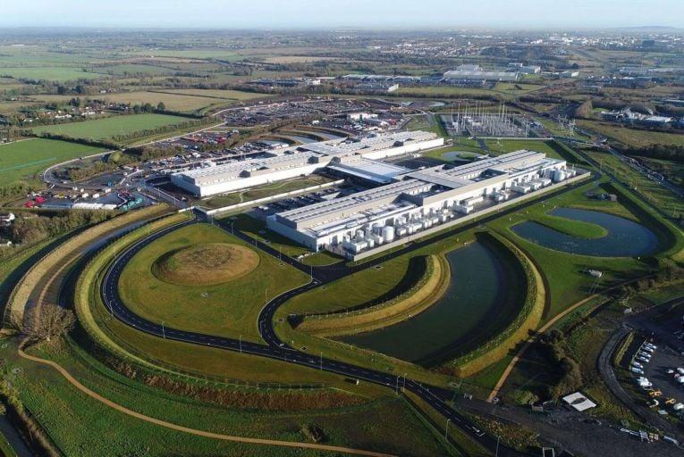 Facebook data centre in Clonee, Co Meath: the facility will cover 150,000 sq m when complete